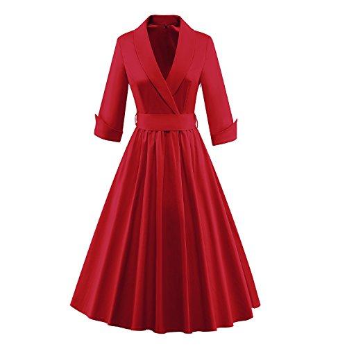 Luouse - Vestido - para mujer V061-red