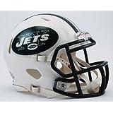 OFFICIAL NFL NEW YORK JETS MINI SPEED AMERICAN FOOTBALL HELMET BY RIDDELL