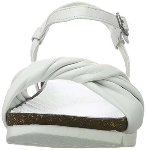 Andrea Conti Women's 1673419 Sandals White (Weiß 001) nAdxNq