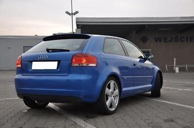 AUDI A3 SPOILER POSTERIORE 8P BERLINA S LINE SPOILER S3 NUOVO tuning-deal