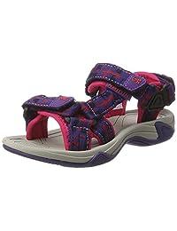 Kamik Girls' LOWTIDE2 Sandal, Purple, 11 M US Little Kid
