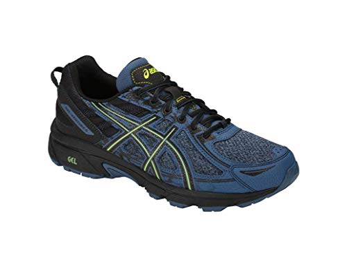 ASICS Gel-Venture 6 MX Men's Running Shoe, Grand Shark/Neon Lime, 7 M US by ASICS (Image #1)