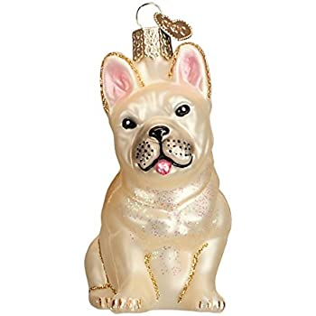 old world christmas ornaments french bulldog glass blown ornaments for christmas tree