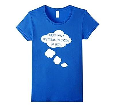 Women's Funny Quiet Baby Maternity T-Shirt