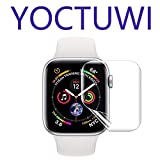 Series 4/5 - Max Coverage Bubble-Free Anti-Scratch iWatch 40mm Flexible TPU Clear Film