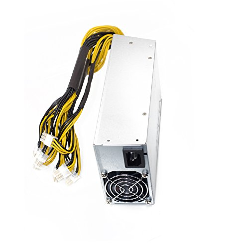 Power Supply for Bitmain AntMiner (APW3++ 1200W@110v 1600W@220v w/ 10 Connectors) by HotTopStar (Image #2)