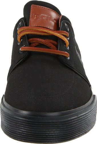 Sneaker Basso Nero / Nero Canvas
