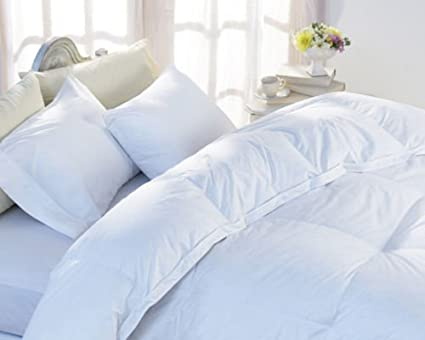 c6f13b84df7 Luxury White Goose Feather & Down Duvet Quilt - 13.5 Tog Double Size - 40%  Down Luxurious Super Soft