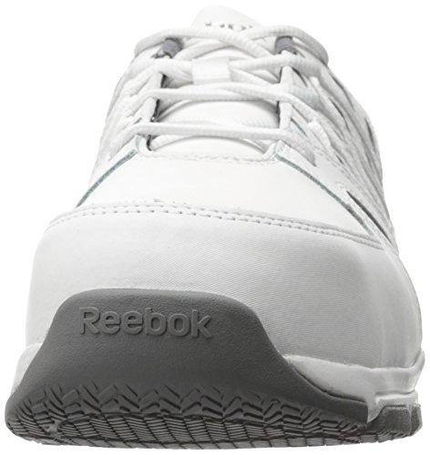 Reebok Jobbe Menns Sublite Arbeid Rb4443 Industriell Og Bygging Sko Hvit