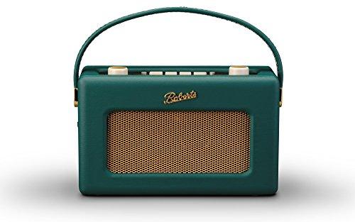 [해외]로버츠 라디오 R300 가죽 크로스 그린 영국 왕실 납품업자 일본 사양 모델 AC 어댑터 포함 / Roberts Radio R300 Leather Cloth Green British Royal Errands Japanese Specification Model with AC Adapter
