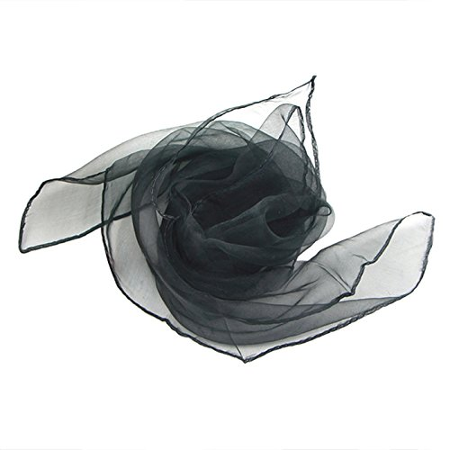 Scarf - SODIAL(R)50s Retro Neck Scarf Square Organza Chiffon Scarf Fancy Wrap Hair Tie Shawl, (Hair Of The 50s)