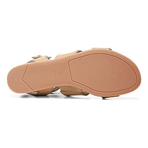 Via Spiga Dianne Mujer US 7.5 Crema Sandalia Gladiador