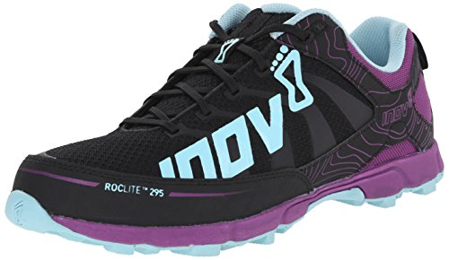 Running Blue 8 295 Roclite Purple Inov Trail Women's Grey Shoe xXgwqP