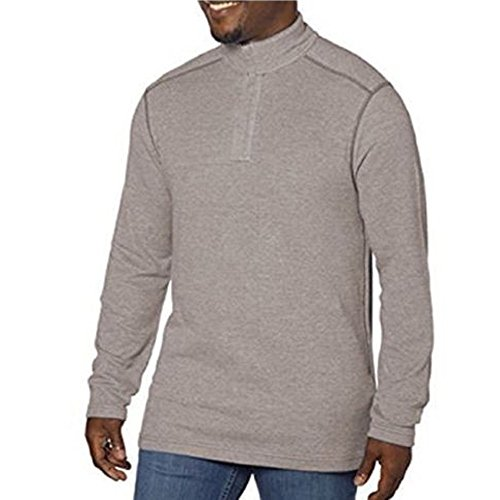 Kirkland Signature Men's Pima Cotton 1/4 Zip Pullover Shirt