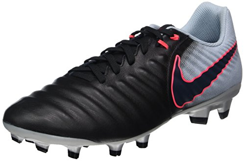 Nike Tiempo Ligera IV FG Soccer Cleats-Black/Light Armory Blue/Armory Blue/Armory Navy gnphb