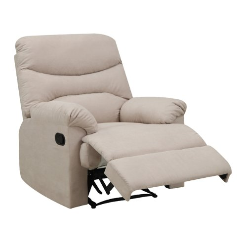 Amazon.com: ProLounger Wall Hugger Recliner Chair In Khaki Microfiber:  Kitchen U0026 Dining