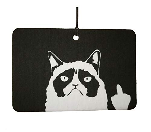 Grumpy Cat Car Air Freshener ()