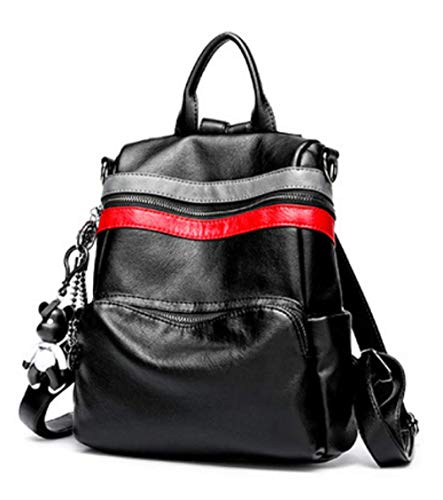 Da PU Casual Blackb Da Travel Zaino Viaggio College Esterno XZWSJB Fashion Rucksack Borsa qIwE654