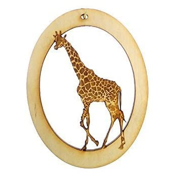 Amazon.com: Old World Christmas Baby Giraffe Glass Blown Ornament ...
