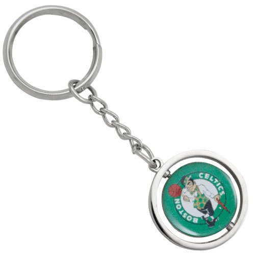 aminco NBA Boston Celtics NBA-KT-827-01 Spinning Keychain, One Size, Multicolor