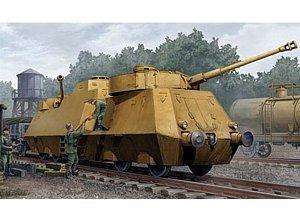German Army Heavy Armored Train Nr.51 (Plastic model)