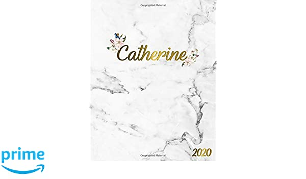 Catherine 2020: Marble & Gold 2020 One Year Weekly & Monthly ...