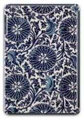 Custom ipad Mini Retina case,Blue background abstract flowers as 3D ipad Mini Retina case by ruishername