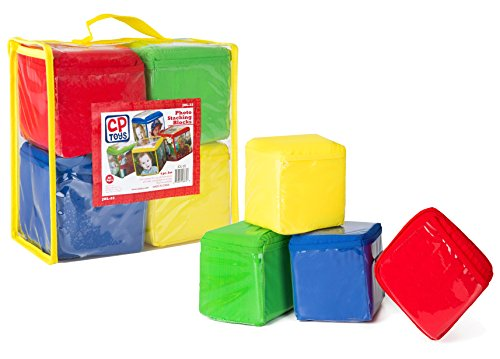 CP-Toys-Photo-Pocket-Foam-Stacking-Blocks-Set-of-4-Colorful-Blocks-with-24-Vinyl-Photo-Pockets-to-Personalize-Ages-12-Months