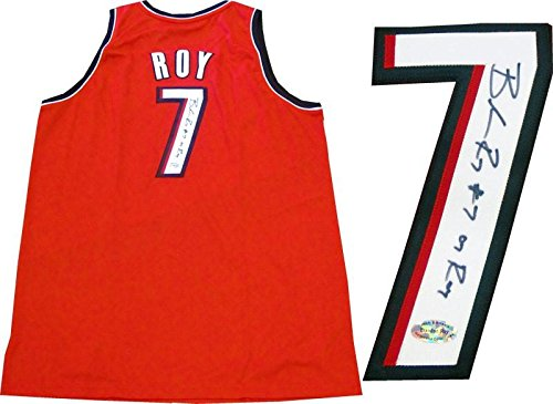 Brandon Roy Autographed Jersey - 07 Red - Autographed NBA (Brandon Roy Jersey)