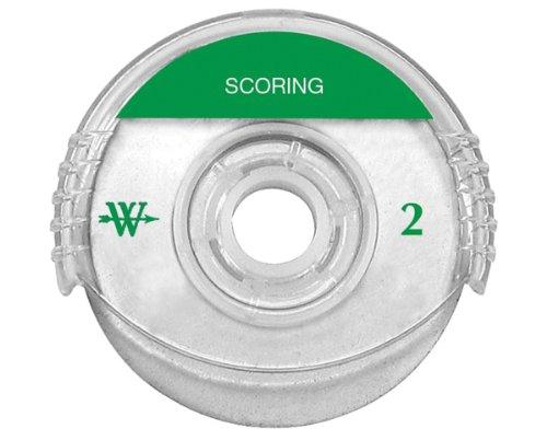 Westcott Titanium Bonded Rotary Trimmer Replacement Blade, Scoring, 45 mm