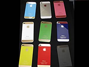 Iphone 4S Back Glass-Fit All models and carriers. Iphone 4 fit only for Verizon and Sprint carrier. To get original quality, fast shipping and screwdriver included buy only from CrystalStar (Iphone 5 style (White))