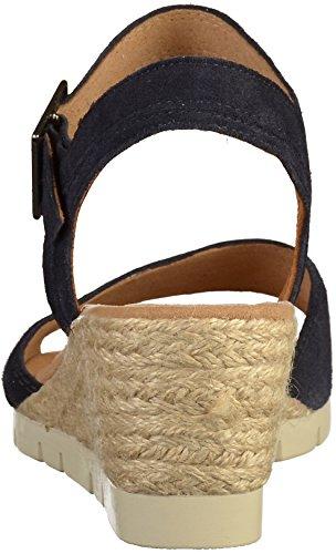 Gabor Ladies Comfort Sport Sandali Con Il Cinturino, Blu Blu (oceano (juta))