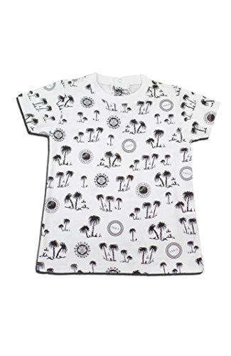 KENZO Little Boys' Palm Tree T-shirt -3T -WHITE