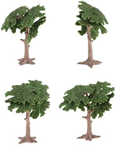 プラスチック 松の木モデル 建築景観 ジオラマ 風景 装飾
