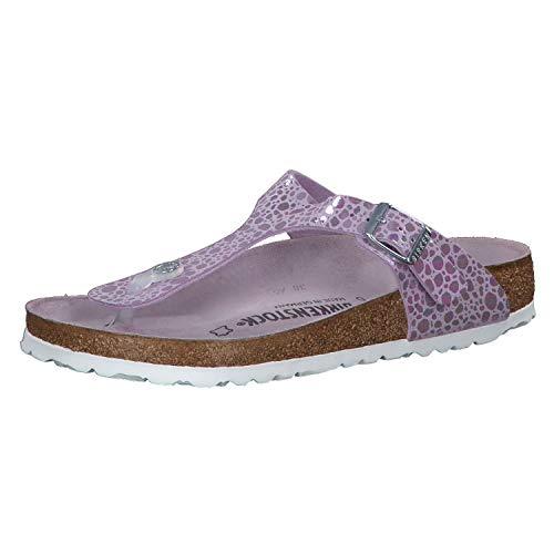 Birkenstock Unisex Gizeh Birko-Flor Lilac Sandals 6 W / 4 M ()