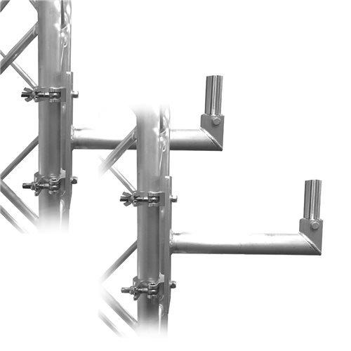 Global Truss DT-F34 SPK/MT F34 Speaker Mount 2-Pack by Global Truss