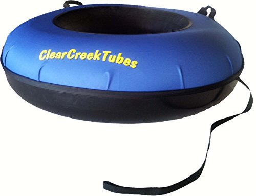 ClearCreekTubes Hard Shell Bottom Snow Tube 44'' by ClearCreekTubes