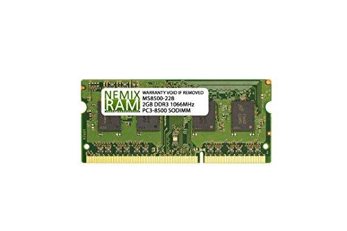 Nemix Ram Compatible Apple iMac 9,1 (20-inch Early 2009) 2.0GB 1x2GB DDR3 1066Mhz PC3 8500 SODIMM Ram Memory Module