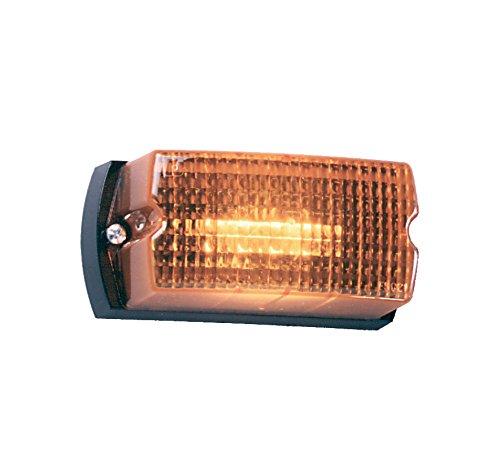 Federal Signal LP1-120A Streamline Low Profile Mini Strobe Light, Surface Mount, 120 VAC, Amber (Signal Light Federal)