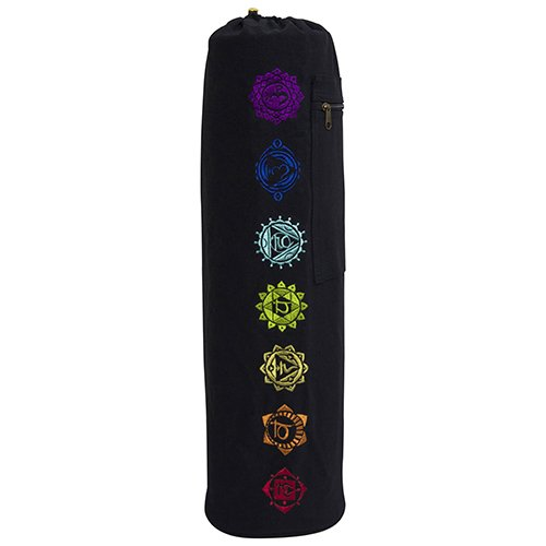 Fit Spirit 7 Chakra Exercise Yoga Mat Bag w/Cargo Pocket – Choose Your Color (MAT IS NOT INCLUDED) – DiZiSports Store