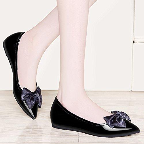 Il Le Frenulo Colori black Delle KPHY Scarpe Scarpe Testa Fondo Piattaforma Primavera Casual Dei Piatto Rotonda Impermeabile Comoda xf4Rq