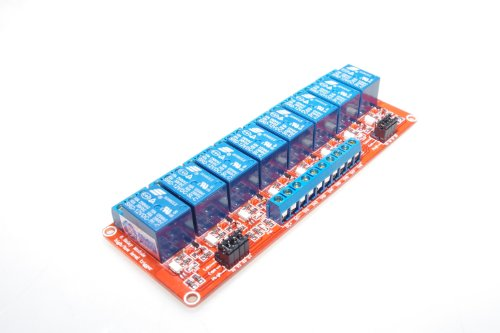 8 Channel 12V Relay Module Board Optocoupler Protection Power - 1