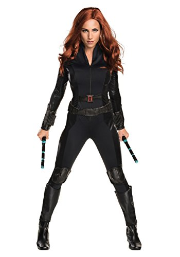 Rubie's Women's Captain America: Civil War Black Widow Costume, As Shown, Extra-Small -