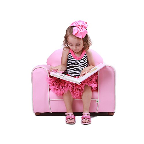 Keet Premium Organic Children's Chair, Pink