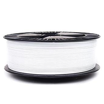 Filamento color Blanco ABS 1000g 1,75mm para impresoras 3D