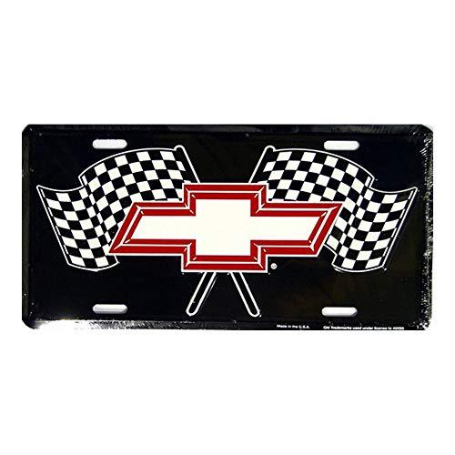 CS-license plate Racing Flags Metal License Plate 6