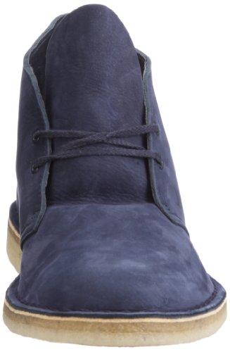 Clarks Desert Boot 20349148 - Botas de cuero nobuck para hombre Azul