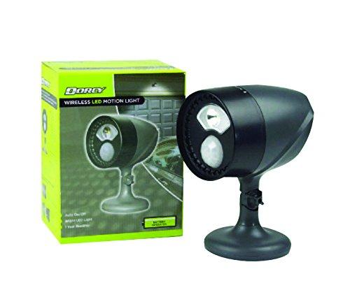 Dorcy 41-1071 180-Degree Wireless Motion Sensing LED Flood