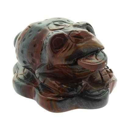 Tiger Iron Money Toad (Large) (Solar Toad)