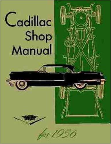 1956 cadillac repair shop manual reprint cadillac amazon books fandeluxe Gallery